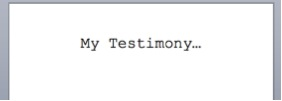 How to Fix a Lame Testimony