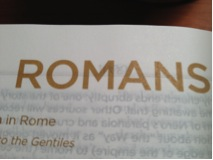 Quotes from Romans